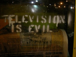 tv is evil