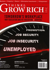 Grow Rich March 13 front cover photo