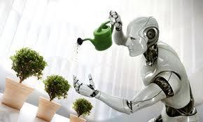 robot watering