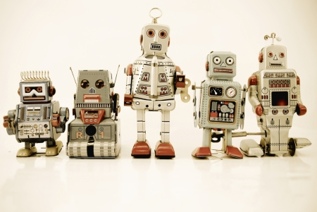 robots antique